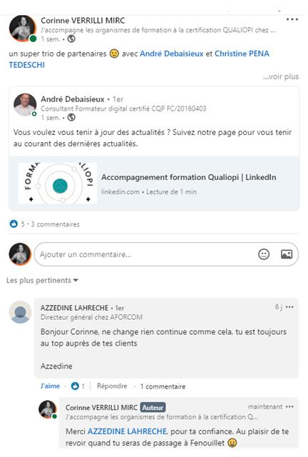 témoignage-client-linkedin